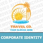 Travel Corporate Identity Template 16496