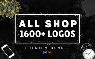 1600+ Mega Bundle All Shop! Logo Template