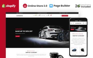 Automotive Auto Parts Store Shopify Theme