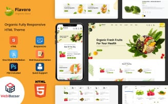 Flavoro - HTML5 Multipurpose eCommerce Website Template
