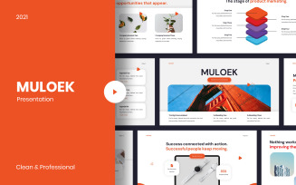Muloek - Creative Professional Template Google Slides