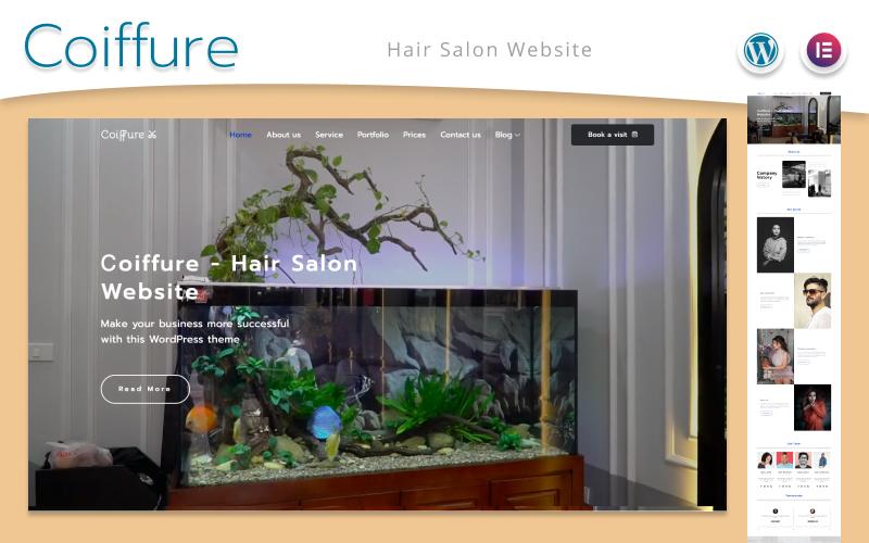 Сoiffure - Hair Salon Website WordPress Theme