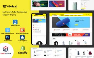 Mixdeal - Minimal Modern Shopify Theme