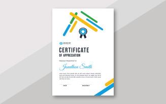 Modern Award Theme Certificate Template