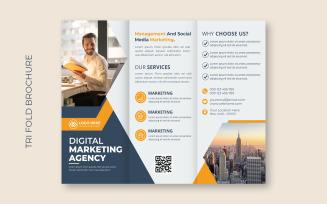 Corporate Business Trifold Brochure Cover Design Corporate Identity Template