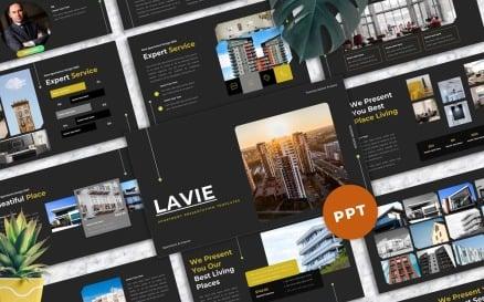 Lavie - Apartment PowerPoint Template