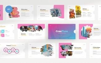 Creatives Creative Agency - Keynote template