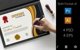 Prottasha Certificate Template