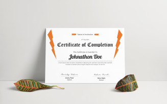Amity Peter - Certificate Template