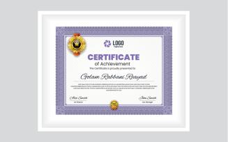 Border Certificate
