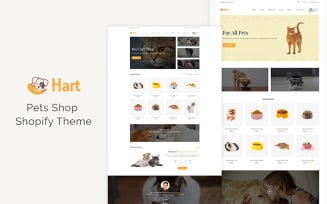 Hart – Pet Care, Pet Sitter Shopify Theme