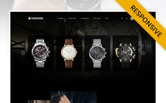 TimeRound - Watch Store OpenCart Template