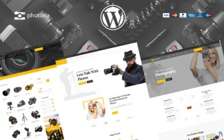 Photoria Photographer Studio and shop WooCommerce Theme