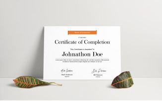 Mark - Certificate Template