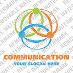 Communications Logo  Template 16504