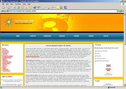 Шаблон для сайта (16549)