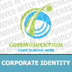Communications Corporate Identity Template 16560