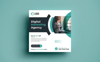 Digital Marketing Agency Social Media Banner Post.