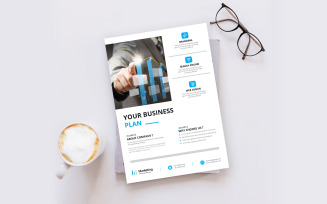 Clean & Minimal Flyer
