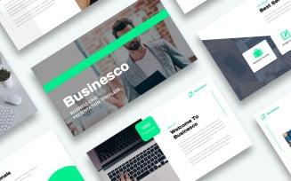 Free Business Case Presentation - Keynote template