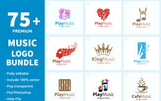 75+ Music Logo Bundle