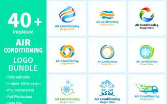 40+ Air Conditioning Logo Bundle