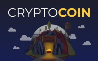 CryptoCoin — Cryptocurrency HTML5 / Bootstrap 4 / Responsive Landing Page Template