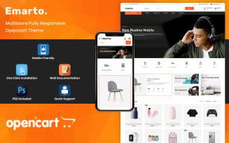Emarto - Multipurpose Store OpenCart Template
