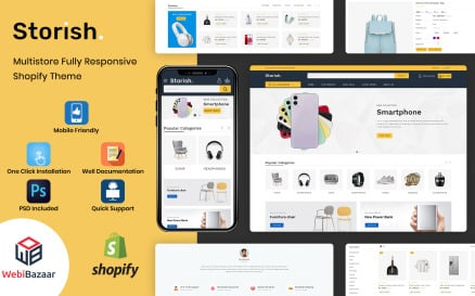 Storish - Multipurpose Responsive Shopify Theme