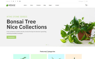 Vesoz - Plants And Nursery Shopify Theme