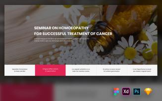 Wird - Hero Header for Medical Websites