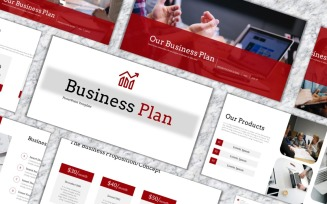 Business Plan - Creative Business PowerPoint Template