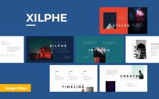 Xilphe Modern Google Slides Presentation Template