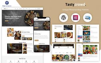Tastycrowd - Cafe & Restaurant WordPress Elementor