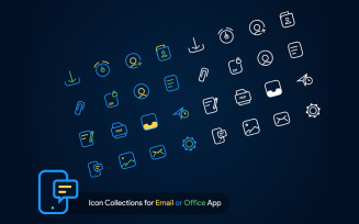 Collections for Email or Office App Iconset
