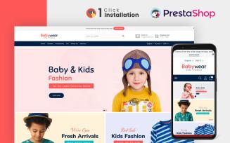 Baby Wear Clothing Store Prestashop Theme