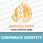 Agriculture Corporate Identity Template 16678