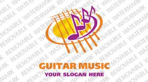 Music Store Logo Template vlogo