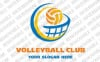 Volleyball Logo Template vlogo