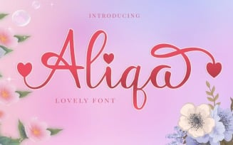 Aliqa - Lovely Font