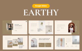 Earthy Elegant GoogleSlide Presentation Template
