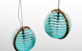 0905 Glass Lamp 3D Model