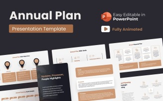 Annual Plan PowerPoint Presentation Animated
