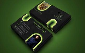 Modern Business Card Vol - 1 Corporate Identity Template