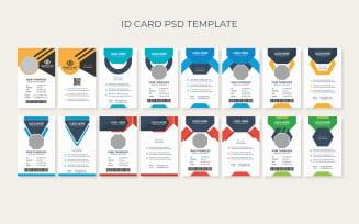 Graphic Designer ID Card Bundle Theme