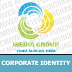 Media Corporate Identity Template 16798