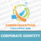 Communications Corporate Identity Template 16799