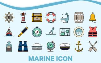 Marine Nautical Icon