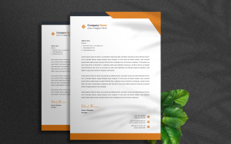 Free Business Letterhead - Corporate Identity Template