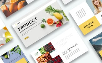 Free Product Presentation PowerPoint template